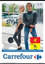Prospectus Carrefour : Une rentrée avec style