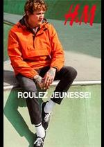 Catalogues et collections H&M : ROULEZ JEUNESSE!