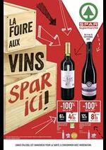 Promos et remises Spar : La foire aux vins spar ici!