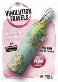Prospectus Supermarché Delhaize Tubize : Delhaize Vinolution travels
