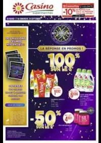 Prospectus Supermarchés Casino PARIS 352 RUE LECOURBE : Catalogue Casino Supermarchés