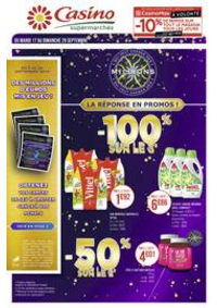 Prospectus Supermarchés Casino Villiers le bel : Catalogue Casino Supermarchés
