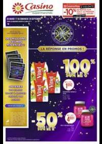 Prospectus Supermarchés Casino THONON LES BAINS : Catalogue Casino Supermarchés