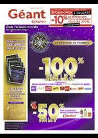 Prospectus Géant Casino PONTARLIER : Catalogue Géant Casino
