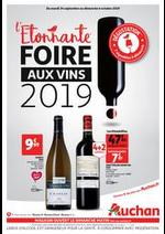 Prospectus Auchan : L'étonnante foire aux vins 2019 !