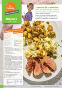 Menus Colruyt : 2 menus de la semaine crees par notre equipe culinaire