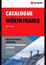 Promos et remises  : Catalogue Würth 2019/2020
