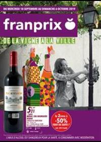 Prospectus Franprix PARIS 103 bd Beaumarchais : De la vigne a la ville