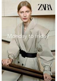 Prospectus ZARA AULNAY SOUS BOIS : Monday to friday