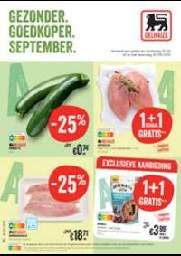 Promos et remises Supermarché Delhaize Tubize : Folder Delhaize