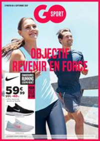 Prospectus Go Sport BOULOGNE BILLANCOURT : Objectif Revenir en Force