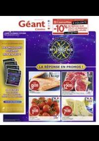 Prospectus Géant Casino SAINT DOULCHARD : La réponse en promos !