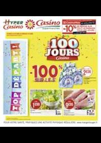 Prospectus Supermarchés Casino Clichy - Rue Martre : Les 100 jours Casino