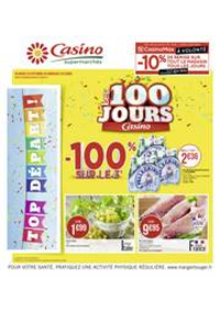 Prospectus Supermarchés Casino GRIGNY : Les 100 jours Casino