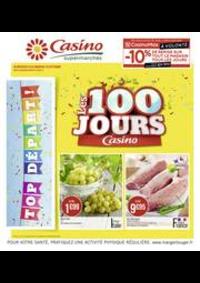 Prospectus Supermarchés Casino DEUIL LA BARRE : Les 100 jours Casino