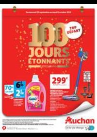 Prospectus Auchan Drive VELIZY : 100 jours étonnants avant 2020