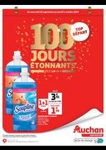 Prospectus Auchan Supermarché : 100 jours étonnants avant 2020