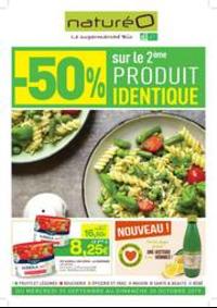 Prospectus NaturéO ORGEVAL : -50% sur le 2ème produit identique