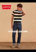 Prospectus Levi's : Passion Denim / Jeans Homme