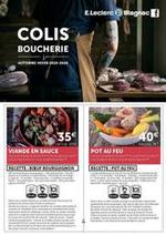 Prospectus  : Colis boucherie.