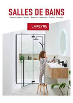 Prospectus Lapeyre : Catalogue Salles de bains 2019