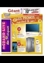Prospectus Géant Casino : Les promos montent le son !