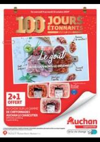 Promos et remises Auchan : 100 jours étonnants avant 2020