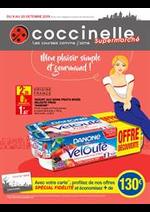 Prospectus Coccinelle : Mon plaisir simple et gourmand!