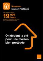 Nouveau Maison Protégée - Orange