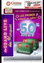 Prospectus Supermarchés Casino : Les promos entrent en scène !