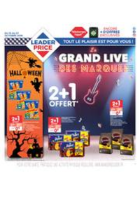 Prospectus Leader Price Saint-Leu-la-Forêt : Le grand live des marques
