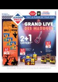 Prospectus Leader Price Alfortville : Le grand live des marques