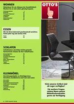 Prospectus Otto's : Möbelkatalog Essen
