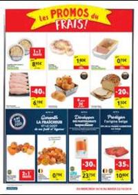 Prospectus Carrefour Market TUBIZE Rue de la Déportation : folder Carrefour Market