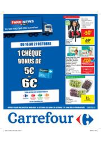 Promos et remises Carrefour BIERGES : Fake news or not?