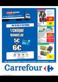Promos et remises Carrefour MARCHE : Fake news or not?