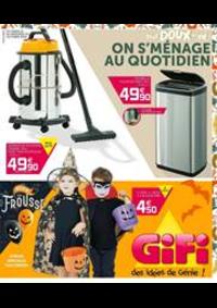Prospectus Gifi VILLEMOMBLE : Gifi des idées de Génie!