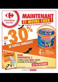 Promos et remises Carrefour Market : Spécial Halloween