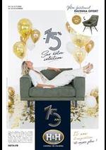 Prospectus H&H : 15 ans d'inspirations et encore plus... -15% sur notre sélection