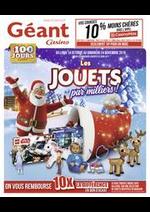 Prospectus Géant Casino : Les jouets par milliers !