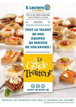 Prospectus  : <div>Le Guide traiteur</div>
