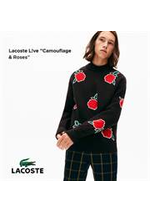 Prospectus Lacoste : Live Camouflage & Roses