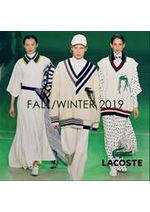 Prospectus Lacoste : Fall:Winter 19