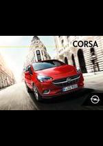 Prospectus Opel : Corsa