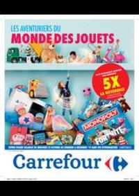 Prospectus Carrefour : Les aventuriers du monde des jouets