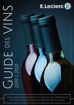 Prospectus E.Leclerc : Guide des vins 2019/2021
