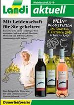 Prospectus Landi : Weinfestival 2019