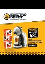 Promos et remises  : Arrivage - Exlu web Electro Depot