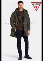 Catalogues et collections Guess : Jackets Men