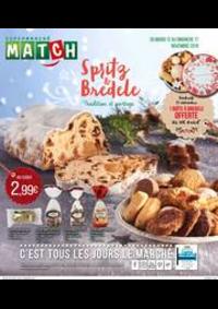 Prospectus Supermarchés Match Fournes-en-Weppes : Spritz & Bredele, tradition et partage